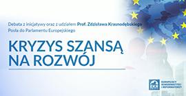Kryzys szansą na rozwój – konferencja z udziałem prof. Zdzisława Krasnodębskiego