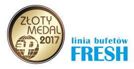 Złoty Medal MTP 2017 dla linii bufetów FRESH