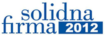 Certyfikat Solidna Firma - po raz szósty